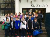 St. Bride\'s Excel in Cross Country
