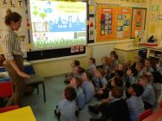 P1 Merron - Visit from the Belfast City Council